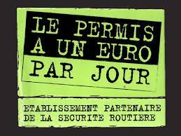 Green Conduite partenaire de l'opération le permis à 1€ par jour